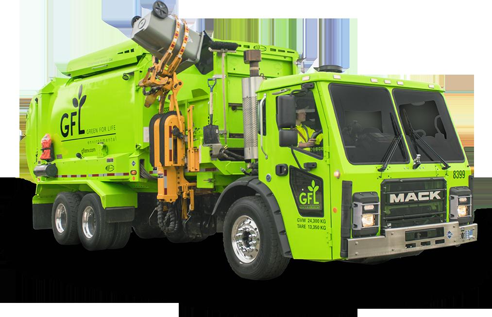 GFL Collection Truck