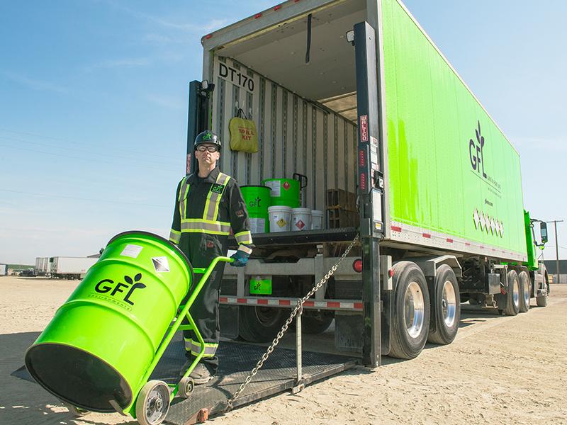 GFL's Commercial Hazardous Waste Services