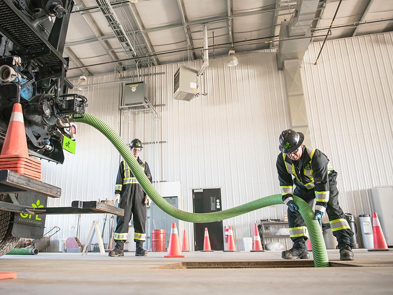 Interceptor Pit Servicing and Maintenance by GFL