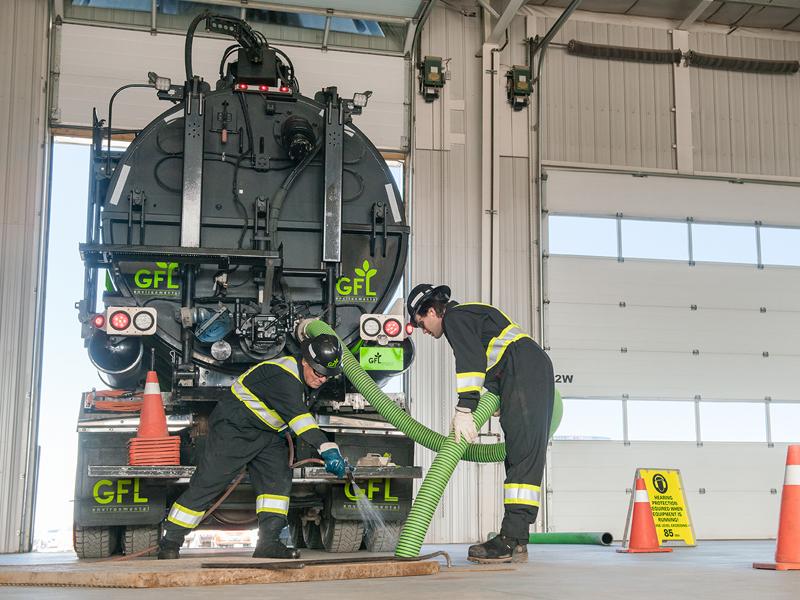 GFL offers interceptor pit servicing