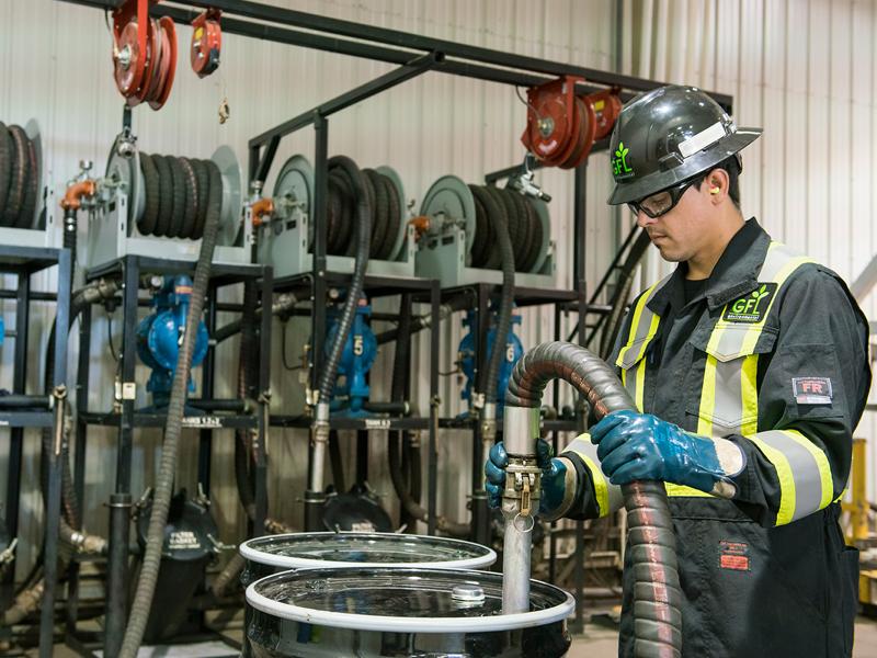 Hazardous Waste Processing Capabilities